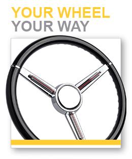 Custom(er) Designed Steering Wheel