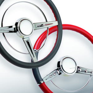 CON2R Adds Trim Ring Options to Steering Wheels