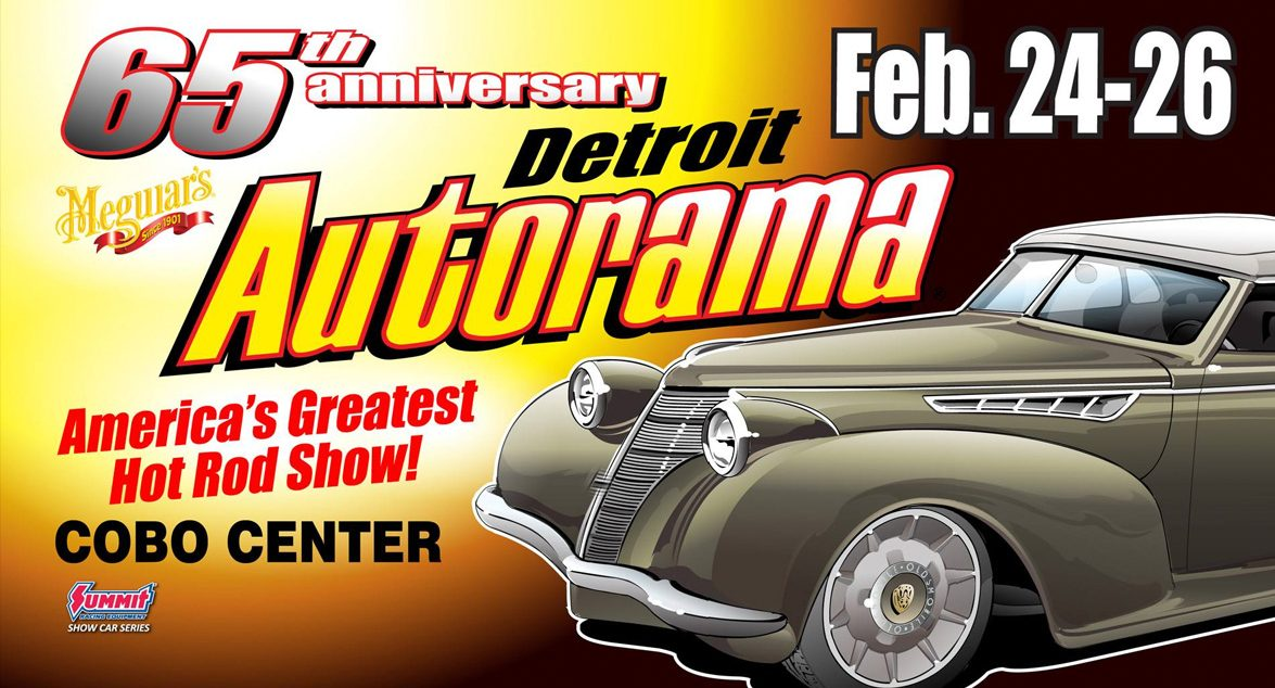 Showtime at the 2017 Detroit Autorama