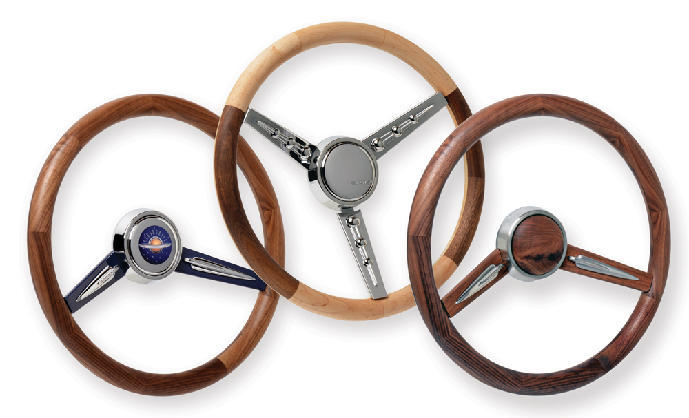 Series One Wood Grip Steering Wheels