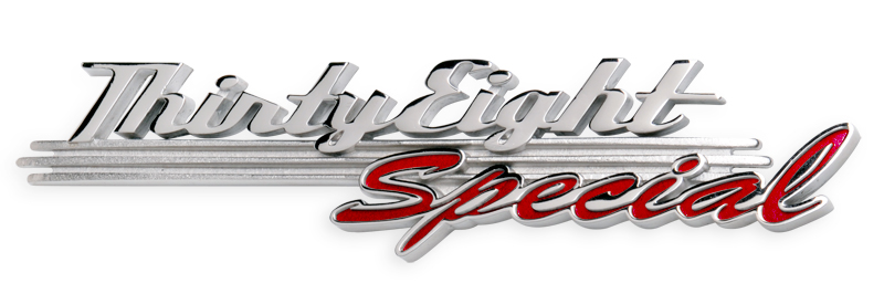 38 Special Plymouth Coupe Emblems
