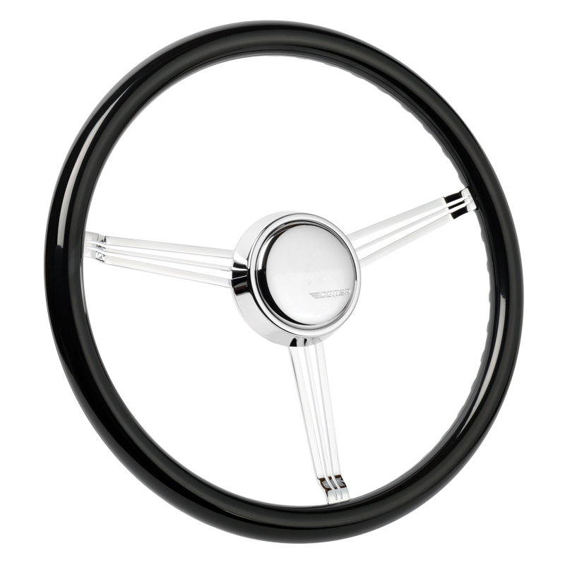 Simply Black Banjo Steering Wheel