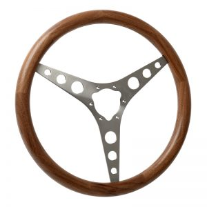 C1 Wooden Corvette Steering Wheel