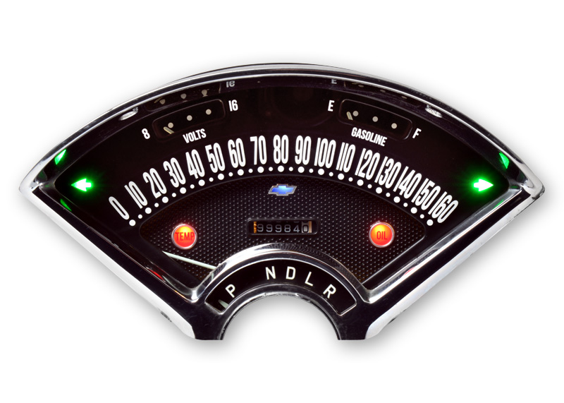 1955-56 Chevy RestoFit Gauges