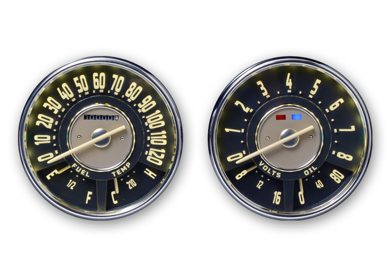 1947-54 Chevy SuperStock Gauges