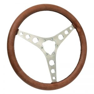 C1 Corvette Leather Wrapped Steering Wheel