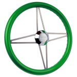 Series Two Custom Green Bonneville Steering Wheel