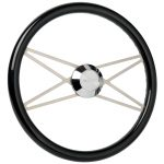 S2 Deluxe Steering Wheel Slotted Spokes