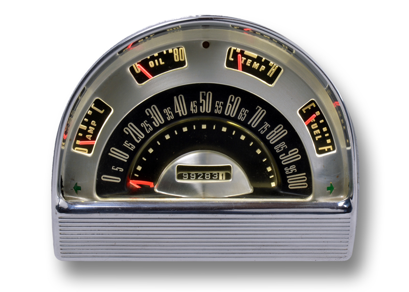 1953 Ford Sedan RestoFit Instrument Set