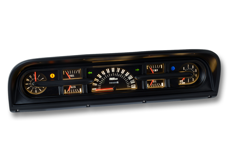 1967-72 Ford Truck Custom Instrument Set
