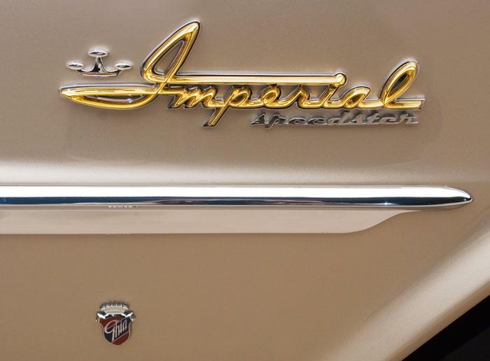 Imperial Speedster Emblems