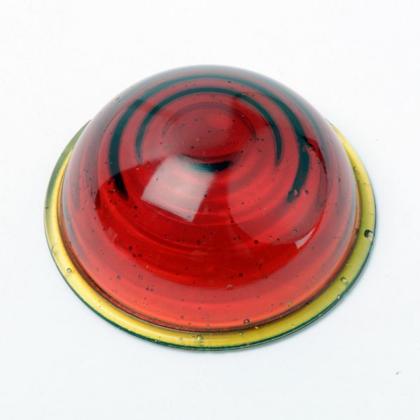 Beehive taillight lens