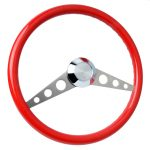 S2 Gazelle Spoke Pattern 3-Hole Steering Wheel