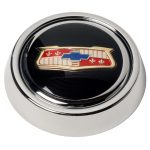 Series One/Banjo Emblem-Inlaid Horn Button
