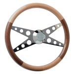 Series 2 Deluxe Wood Steering Wheel Mixed Species