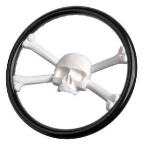 Jolly Roger Steering Wheel