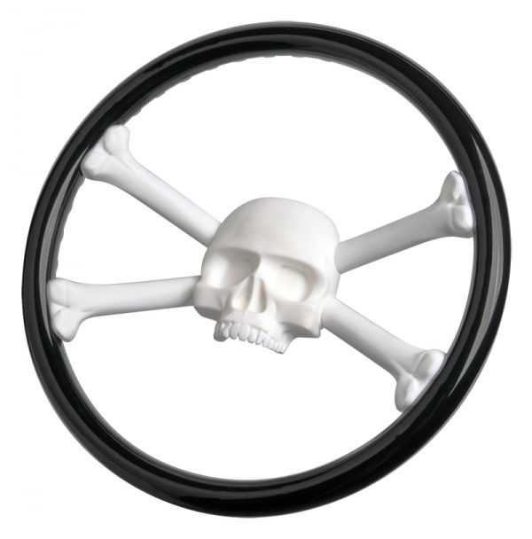 Jolly Roger Custom Steering Wheel