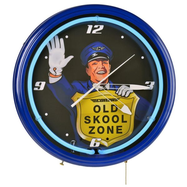 Old Skool Zone Clock