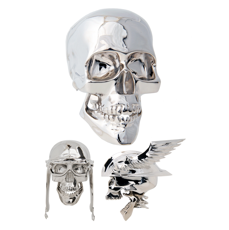 Skull Shift Knobs with Helmets