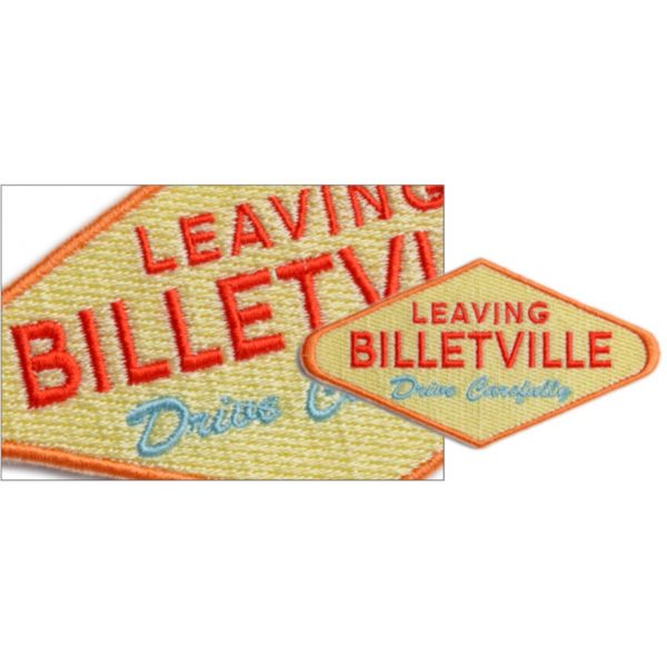 Small 'Leaving Billetville' Patch