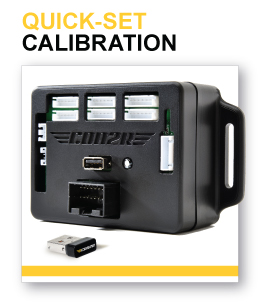 Quick-Set Instrument Calibration System
