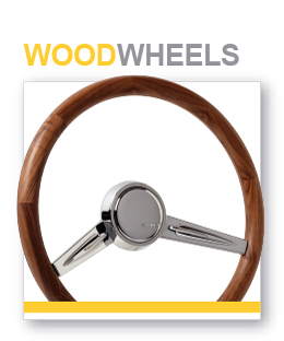 Wood Steering Wheels from CON2R