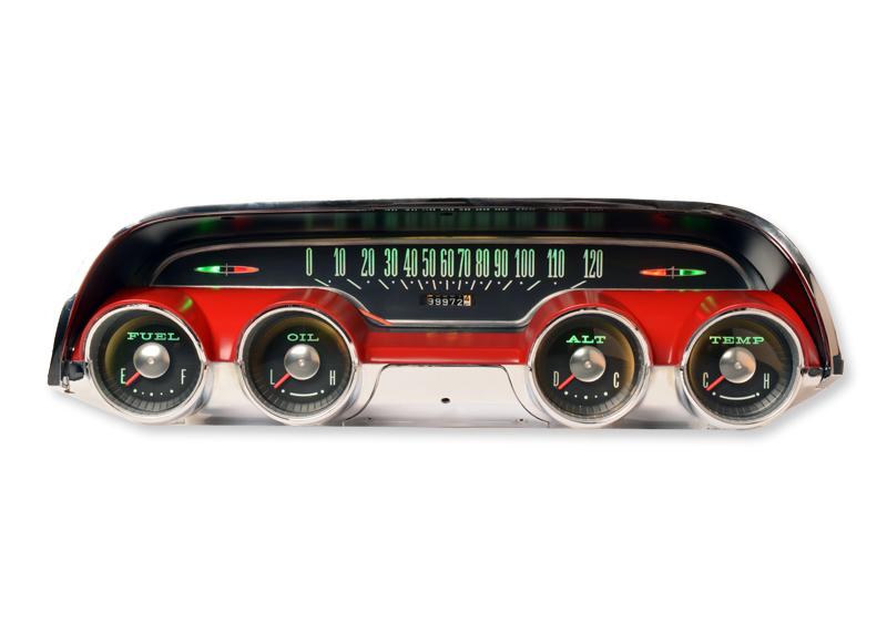 1963 Mercury Monterey RestoFit Instruments