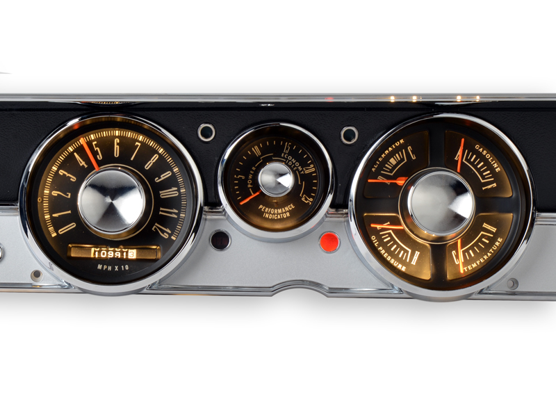 1967 Plymouth Barracuda RestoFit Instruments