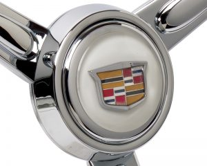 Cadillac Custom Emblem Inlaid Horn Button