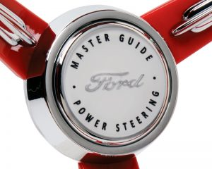 Custom Ford Emblem Inlaid Horn Button