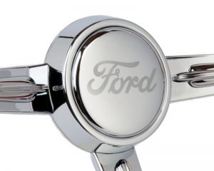Ford Script Etched Horn Button