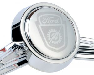 Ford Shield / Bolt Etched Horn Button