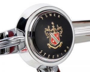 Buick 'Power Steering' Emblem Inlaid Horn Button