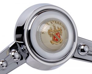 Custom Buick Power Steering Emblem Inlaid Horn Button