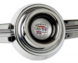 Customer Supplied Cadillac Emblem Inlaid Horn Button