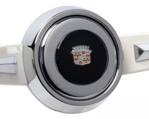 Cadillac Emblem Inlaid Horn Button