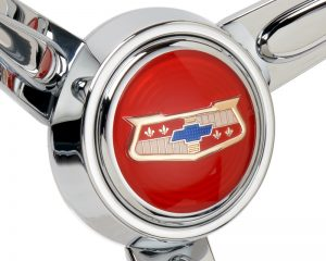 1954-58 Chevrolet BelAir Emblem Inlaid Horn Button