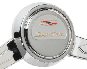 Chevy TwoTen Emblem Inlaid Horn Button