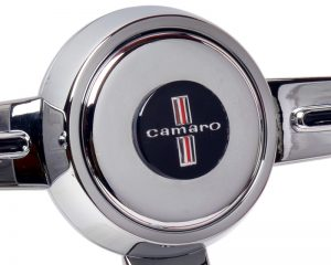 Chevy Camaro Emblem Inlaid Horn Button