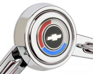 1967-68 Chevrolet Chevelle Emblem Inlaid Horn Button