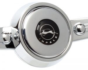 Chevrolet Impala Emblem Inlaid Horn Button