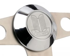 Series Two Triumph Etched Horn Button