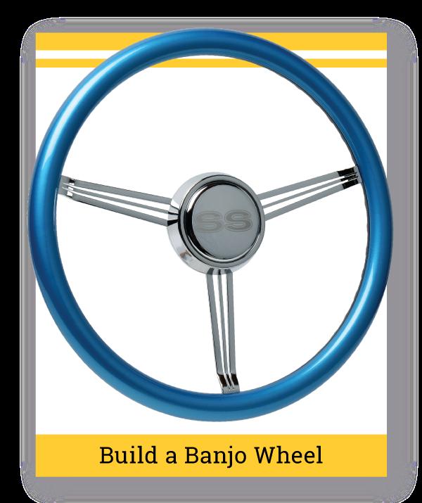 Banjo Steering Wheel Builder
