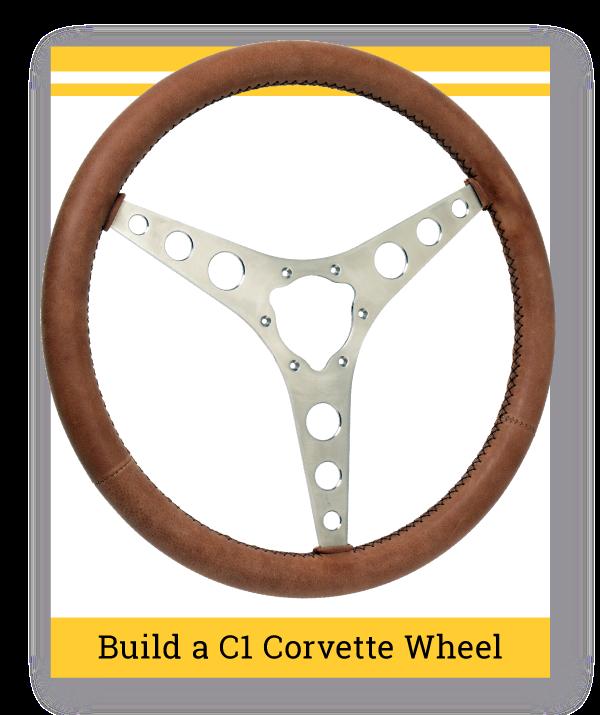 C1 Corvette Steering Wheel Builder