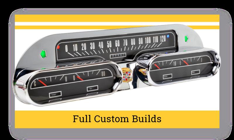 Full Custom Built Gauges