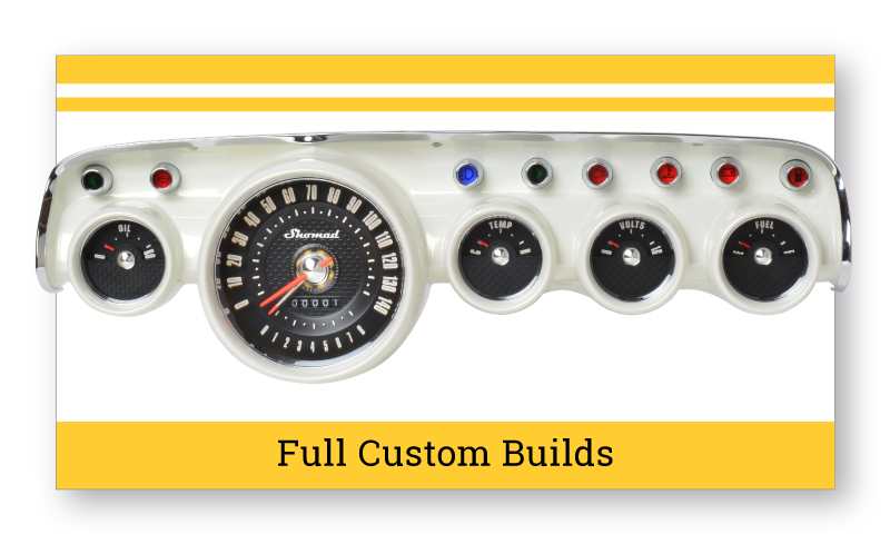 Full Custom Built Gauges