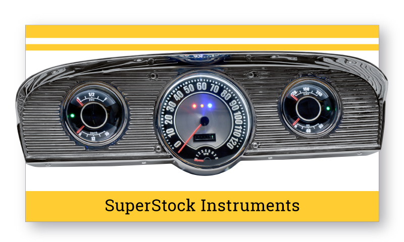 1961-66 Ford F100 SuperStock Instruments