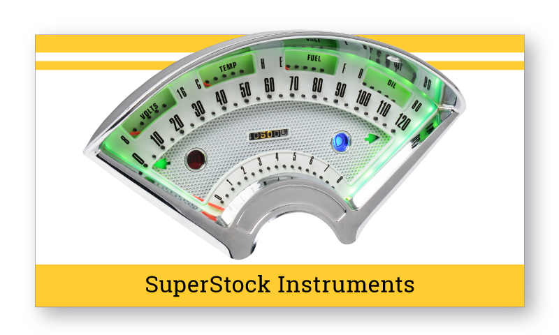 1955-56 Chevrolet SuperStock Instruments