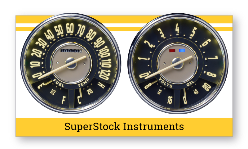1947-54 Chevrolet/GMC Truck SuperStock Instruments