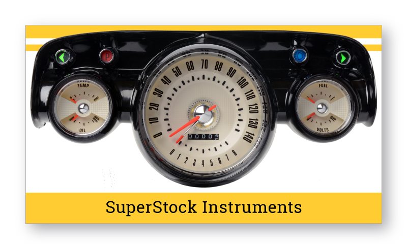 1957 Chevrolet Sedan SuperStock Instruments